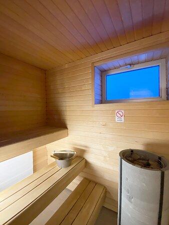 Sauna Junior-sviitissä