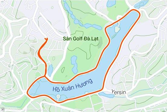 Địa điểm lý tưởng cho dân chạy bộ