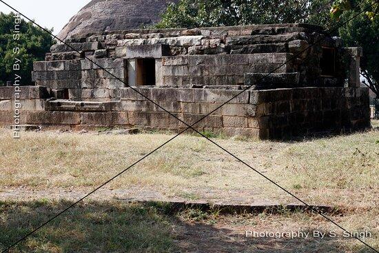 Different Locations , Building  No - 32 , Sanchi Stupa's Monuments Site.