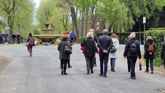 Fontana dei Cavalli Marini 3