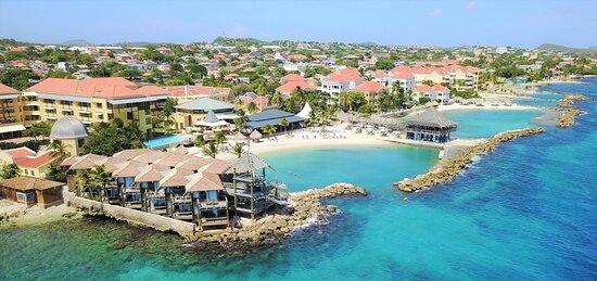 Aerial view Avila Beach Hotel