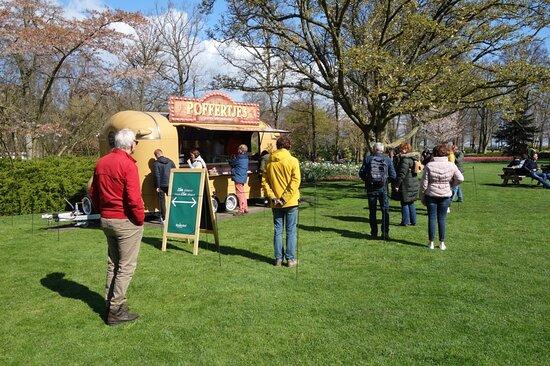 Ingresso direto para os Jardins Keukenhof: snacks en dranken