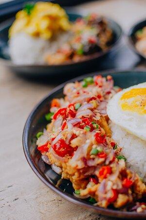 Ricebowl Chicken Sambal Matah