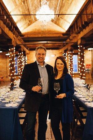 Owners Jan and Kim Waltz