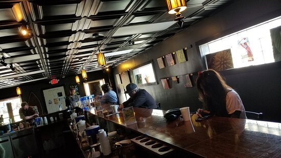 Social distancing at a bar is possible!