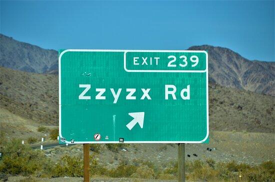 Soda Springs, CA: Road sign