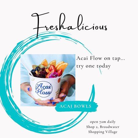 Smoothie/Juice Bar with fresh Lunch ideas, Raw Treats, Vegan, Dairy Free& Gluten Free Soft Serve. Acai & Coco Flow. Smoothie Bowls & Drinks. Acai Bowls & Cones, Scoop Icecream open 7am 7 days a week...