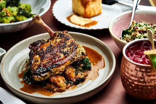 Crispy Char-Grilled Chicken