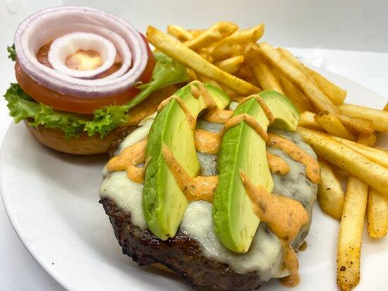 Avacado Burger! The healthy Burger is here!