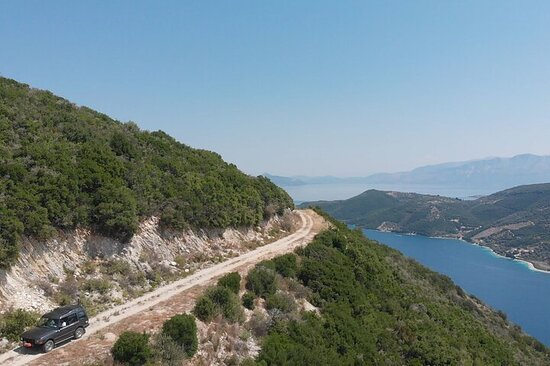 Full-Day Private Visit to Lefkada by 4x4 Vehicle with Lunch