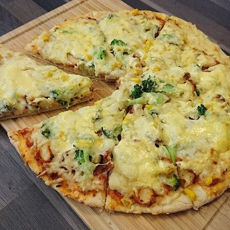 Parchim, Alemanha: Pizza Hähnchen