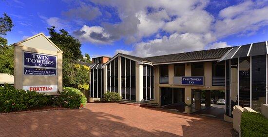 Greenwich, Úc: Hotel Entrance