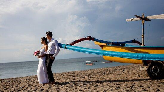 Bali Beachfront Wedding