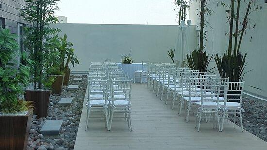 Guest patio