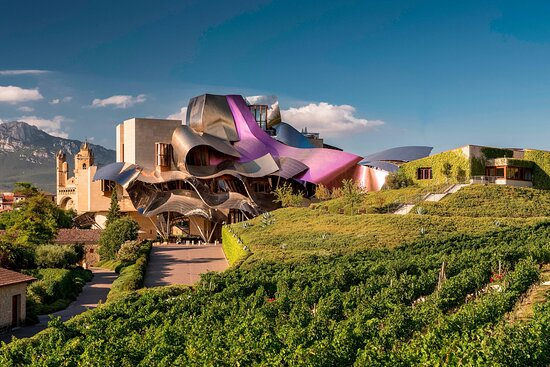 Hotel Marques de Riscal a Luxury Collection Hotel, hoteles en Logroño