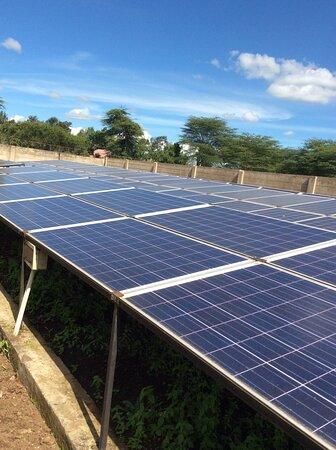 KIITEC  College solar array