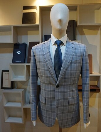 One nice suit with check fabric by Stylo's Collection.  We offers top-notch quality tailoring since over two decades. 👔 🤵  Visit our store for high quality and fashionable suits, tuxedos and shirts or order online or contact us for business partnership. 😀  WhatsApp/ Ph : +66 (0) 865 373 888, +66 (0) 897836661 Email: styloitbkk@gmail.com Website: www.stylocollection.com #Styloscollection #Premium #premiumquality #Cavani #Luxury #Suit #Tuxedo #Stylo #GQ #Bespoke #Master_Tailor #Bangkok_Best_Tai