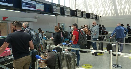 Air France: Check in Casablanca