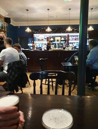 The Denbigh Castle Pub in Liverpool Commercial District.