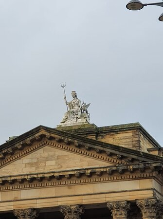 Beautiful architecture, The Walker Art Gallery.
