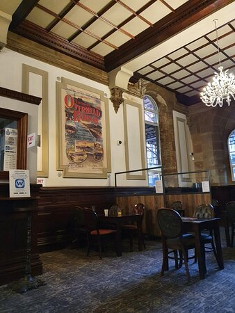 The North Western Pub along Lime Street.
