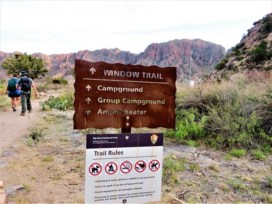 The Window Trail, Big Bend National Park TX