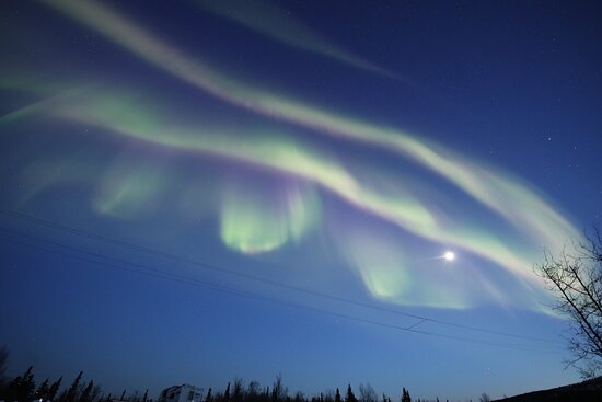 April 16, 2021 strong aurora showing