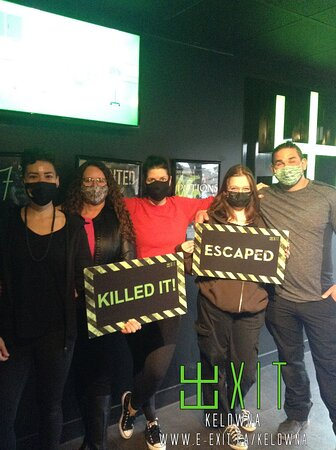 Here's some of our awesome escapee's from April 11th-18th, 2021. Many failed and many succeeded! Test your wits today!