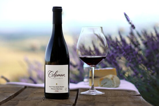 McMinnville, OR: Enjoy the beautiful views while you sip wine at Coleman Vineyard.