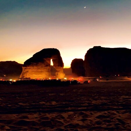 العلا, المملكة العربية السعودية: Elephant rock is one of the most popular places in KSA