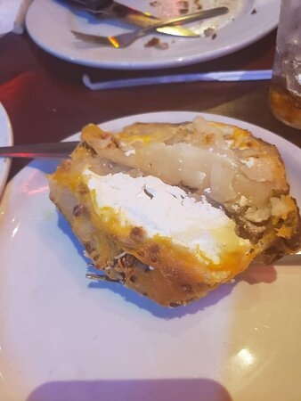 this is a fully loaded baked potato.....