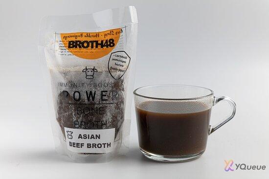 Artisanal Asian Beef bone broth