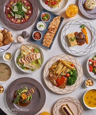 Sheikh Zayed City, Egypt: selection of our food