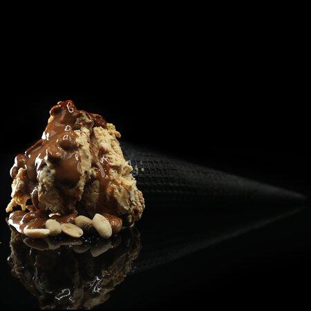 Arachimoou arachide e caramello salato (vincitore gelato festival 2015