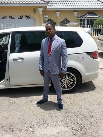 Spanish Town, Jamaïque: Driver