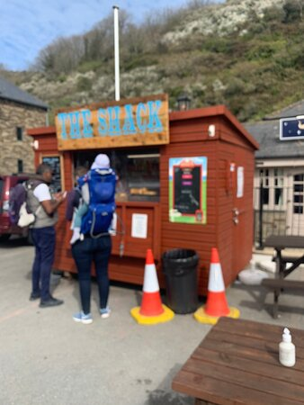 Seaton, UK: The Smugglers' takeaway shack and what they sell