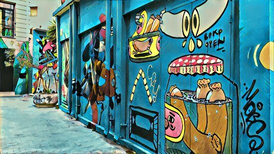 Discover Awesome Street Art Small-Group Tour in Athens: One of the gems in Psyri district