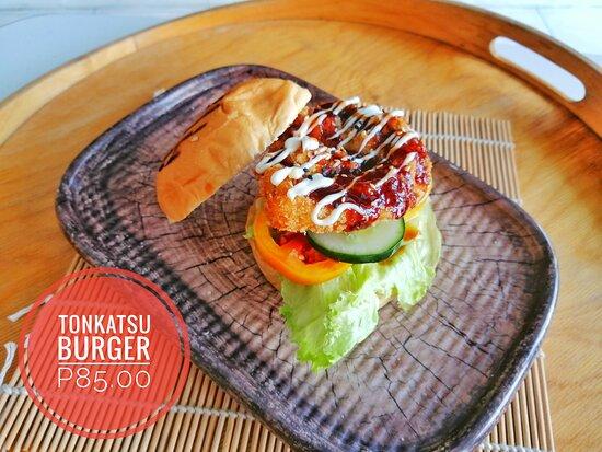 Tonkatsu Burger @ 95.00