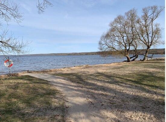 Vombsjön Badplats