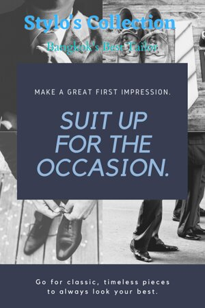 Stylo's Collection offers top-notch quality tailoring since over two decades. 👔 🤵  Visit our store for high quality and fashionable suits, tuxedos and shirts or order online or contact us for business partnership. 😀  WhatsApp/ Ph : +66 (0) 865 373 888, +66 (0) 897836661 Email: styloitbkk@gmail.com Website: www.stylocollection.com #Styloscollection #Premium #premiumquality #Cavani #Luxury #Suit #Tuxedo #Stylo #GQ #Bespoke #Master_Tailor #Bangkok_Best_Tailor #Supplier #Stylo #Shipping #Worldwid