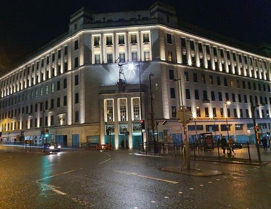 Liverpool Resurgent Statue