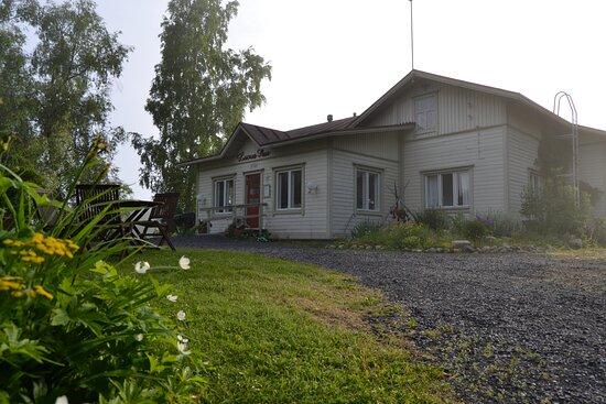 Lapinlahti, Finland: Luovan Puun kaunis kesäpihapiiri