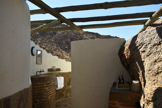 Solitaire, Namíbia: Outdoor bathroom
