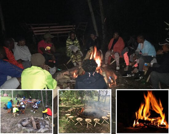 Nyahururu, Kenya: Tree Trail Camp is an awesome campsite  to visit!  Serenity, nature walks, bonfire, cycling...the  hikes.  Indoor games... the laughter. It's surely a unique location out of town.