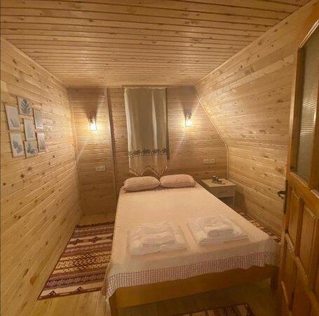 Yaniklar, Türkei: İpek 1 bungalov alt kat yatak odası