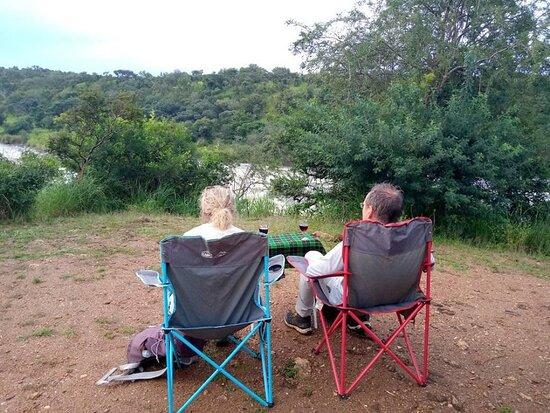 Murchison Falls National Park, Uganda:  A lunch break in the wilderness