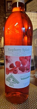 This white wine is made by adding real raspberries once the fermentation of the white grapes is completed. This process imparts a soft raspberry aroma and taste to this off-dry white wine.