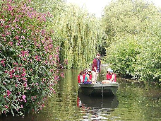 Barques des hortillonnages - Jardin des Vertueux