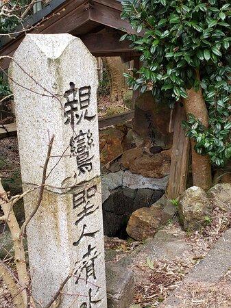 Yahiko-mura, Japan: 彌彦神社正面に向かって左手入ります