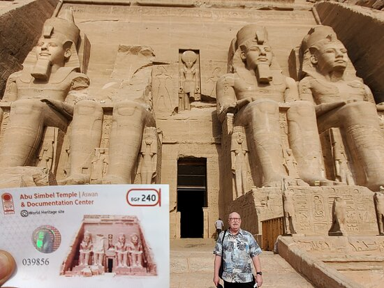 The World Famous Pyramids Sound and Light Show in Giza: Abu Simbel Temple